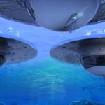 (Pod)vodno plovilo Jet Capsule UFO