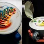 Kava z mavrico