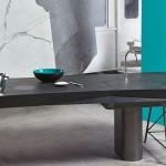Kuhinjski pult z nevidnim koritom