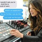 Nakupovanje kozmetika