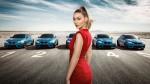 BMW M2 in Gigi Hadid