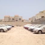 Pokopališče luksuznih avtomobilov v Dubaju