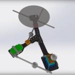 Monospinner - dron z enim propelerjem