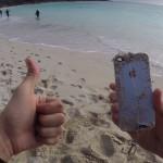 iPhone kot vaba za ribe