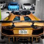 Garaža polna izjemno redkih Lamborghinijev