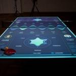 Interaktivna AR miza za namizni tenis