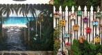 Izvirne vrtne ograje