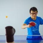 Trainerbot – pametni metalec ping pong žogic