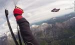 Prvi skok z wingsuit obleko v Sloveniji