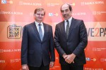 Zdenek Houser, predsednik upravnega odbora Intesa Sanpaolo Card in Giancarlo Miranda, predsednik uprave Banke Koper