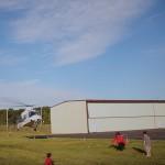 Puljenje zoba s helikopterjem