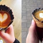 Kava v kornetu