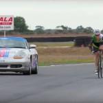 Anna Meares vs Porsche Boxter