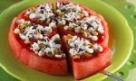 Recept za lubenico z belo čokolado