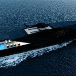 Black Swan Superyacht - strupena superjahta
