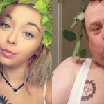 Oče, ki poustvarja hčerkine selfije