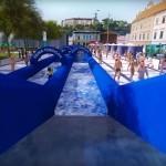 150-metrski vodni tobogan