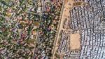Unequal Scene - tanka meja med revščino in bogastvom