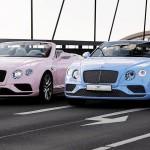 Bentley in Pantone sta predstavila posebni različici kabrioleta Continental GT.