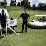Bubba's jetpack je novo prevozno sredstvo za golf