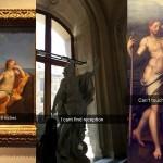 Snapchat komentarji na umetnine.