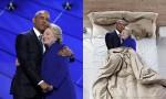 Obama in Hillary se objameta.
