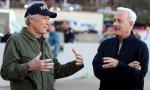 Filmski legendi med pogovorom- Clint Eastwood in Tom Hanks.