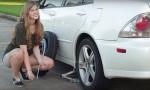 Menjava gum na avtomobilu