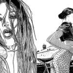 Provokativne črno-bele ilustracije