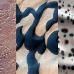 Nove fotografije planeta Mars.