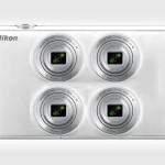 Nikon fotoaparat s štirimi objektivi