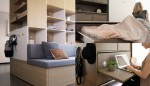 Modularno pohištvo Ori Robotic Furniture.