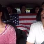Ameriški plavalci - karaoke v avtomobilu