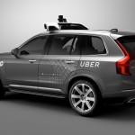 Samovozeči Uberjev Volvo XC90.