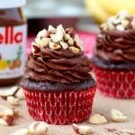 Recept za čokoladne mufine z Nutello.