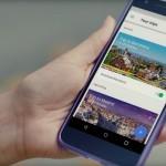 Mobilna aplikacija Google Trips