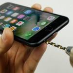 Vrtanje luknje v iPhone 7
