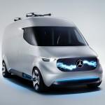 Električni dostavnik Mercedes Vision Van