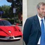 Roman Abramovič in njegovi avtomobili.