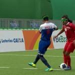 Slepi nogometaš Behzad Zadaliasghari je na paraolimpijskih igrah dosegel spektakularen gol.
