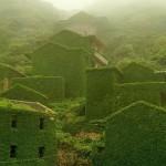 Neverjetne fotografije, ki kažejo moč narave in njeno prevlado: ribiška vasica, Kitajska.