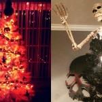 Halloween božična drevesca