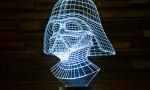 3D LED luči Vojna zvezd
