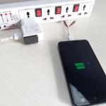 Spremenite standardni polnilec za pametni telefon v brezžičnega.
