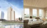 najvišja lesena stolpnica na dunaju