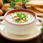 Recept - gobova juha