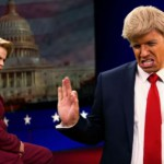 Rap bitka: Hillary Clinton in Donald Trump