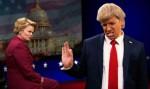 Rap bitka: Hillary Clinton in Donald Trump