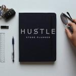 Hustle - vodoodporni notesnik iz kamna