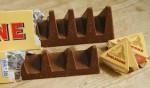 Nova oblika čokolade Toblerone.